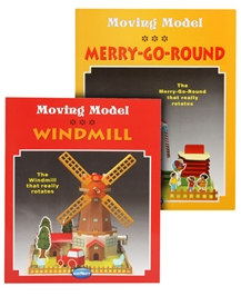 Navneet's Moving Model Books(Merry-Go-Round & Windmill)