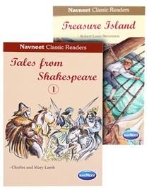Navneet Classic Readers - Tales From Shakespeare & Navneet Treasure Island