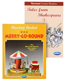 Navneet® Moving Model Merry-Go-Round & Navneet Classic Readers - Tales From Shakespeare