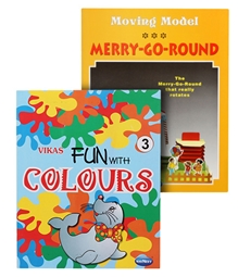 Navneet® Moving Model Merry-Go-Round & Fun with colours