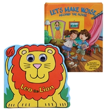Shree - Lets Make Noise around book & Leo The Lion Book