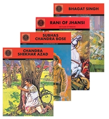 Amar Chitra Katha's - Freedom Fighters Book Combos
