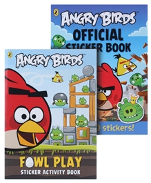 Angry Birds Activity Book Combo  (Pack of 2)