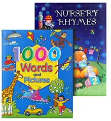 Megaps Nursery with Words & Pictures Book Combo