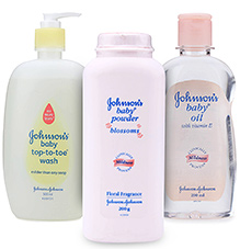 Johnson & Johnson Combo(Top-to-Toe Wash, Baby Bedtime Powder & Baby Oil)