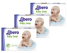 Libero Baby Bar Soap 100gm- Pack of 3