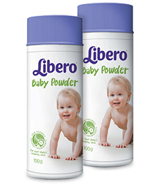 Libero Baby Talcum Powder 100 gm Pack of 2
