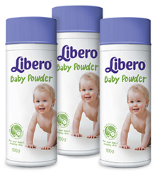 Libero Baby Talcum Powder 100 gm Pack of 3