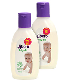 Libero Baby Oil 100 ML-Pack of 2