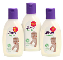 Libero Baby Oil 100 ML-Pack of 3