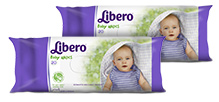 Libero Baby Wet Wipes 20 Pieces-Pack of 2