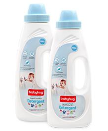 Babyhug Liquid Laundry Detergent - 550 ml - Pack of 2