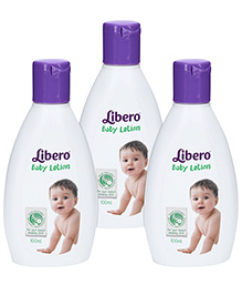 Libero Baby Lotion - 100 ml - Pack of 3