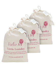 Rustic Art Little Laundry Powder - 1 kg = Pack of 3