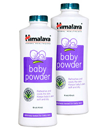 Himalaya Baby Powder 400gm =Pack of 2