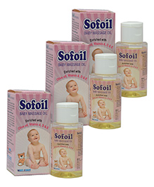 West Coast Sofoil Baby Massage Oil - 60 ml