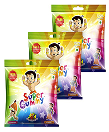 Super Gummy Vitamin B12 and C Gummies In A Pouch - 50 Pillow Packs Pack of 3