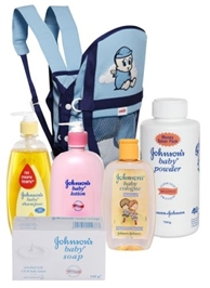Farlin - Baby Cuddler with Johnson's Baby  bathing kit (Set of 6)