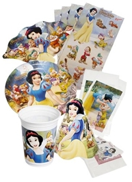 Snow White Birth day Kit (Set of 7)