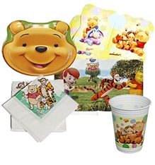 Winnie the Pooh Birth day Kit 2 (Set of 5)