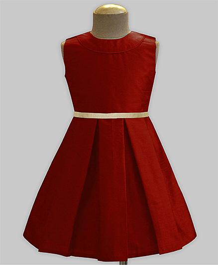A.T.U.N Classic Audrey Dress - Maroon