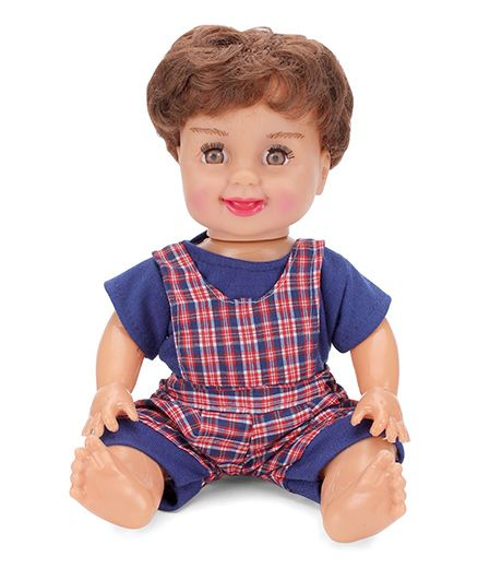 Speedage Sitting Baby Doll Blue - 11 Inches