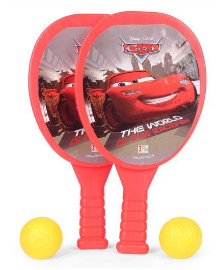 Disney Pixar Cars Racket Set - Red