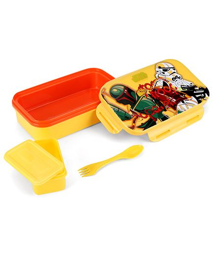 Disney Star Wars Lunch Box Red And Yellow Best Deals