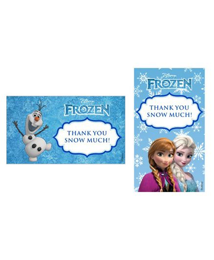 Disney Frozen Thankyou Cards - Pack of 10