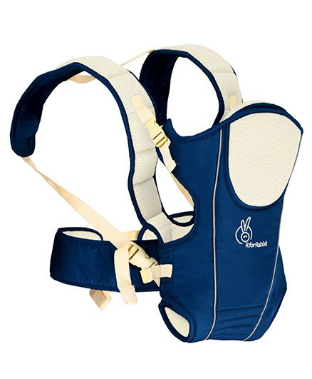 R for Rabbit Chubby Cheeks 3 Way Baby Carrier - Blue