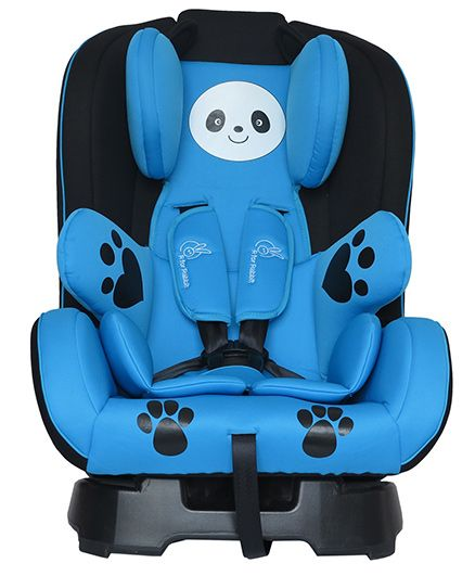 R for Rabbit Jolly Panda The Convertible Car Seat - Sky Blue