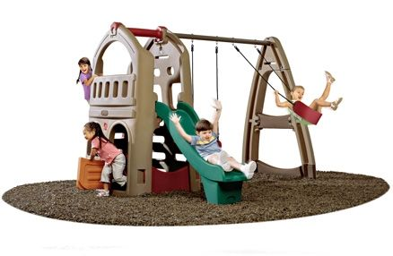 Step2 Naturally Playful - Playhouse Climber & Swing Extension