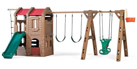 Step2 - Naturally Playful Adventure Lodge Play Center With Glider