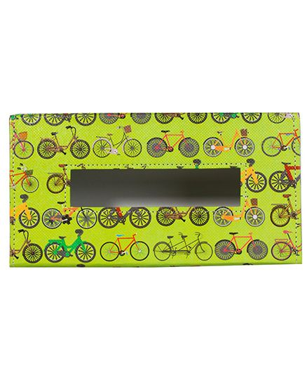 The Crazy Me Cycle Travel Tissue Box Holder - Muticolour