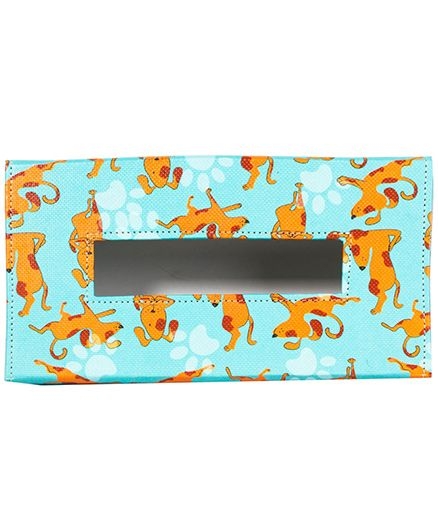 The Crazy Me My Pet Best Friend Tissue Box Holder - Muticolour