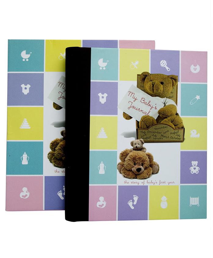 Tiara Diaries My Babys Year Journal Record Book - Pink