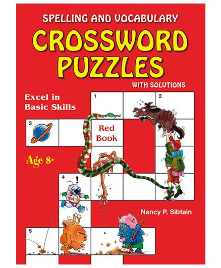 Spelling And Vocabulary Crossword Puzzles With Solution - English