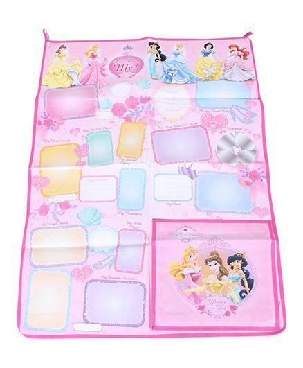 Disney Princess All About Me Organizer - Pink