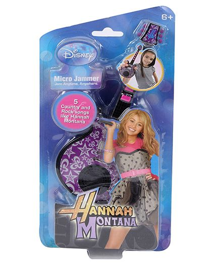 Hannah Montana Micro Jammer - Black And Pink