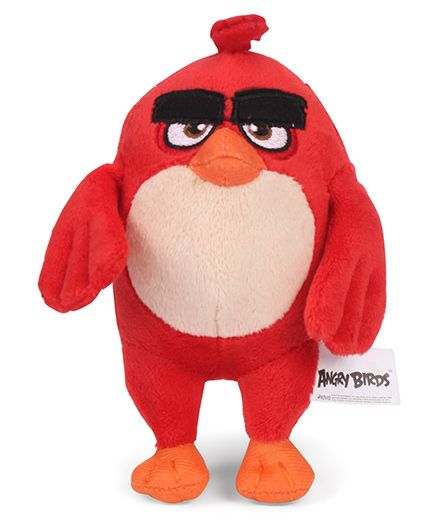 Disney Angry Birds Soft Toy Red - 13 cm
