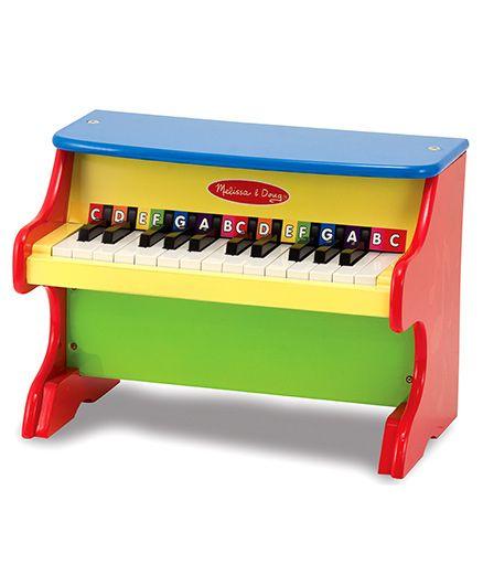 Melissa And Doug Piano - Multicolor