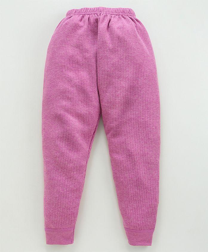 Bodycare Full Length Thermal Leggings - Light Pink
