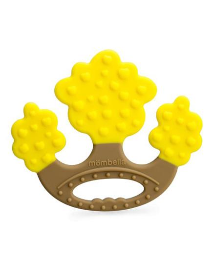 Mombella Apple Tree Teething Toy - Yellow