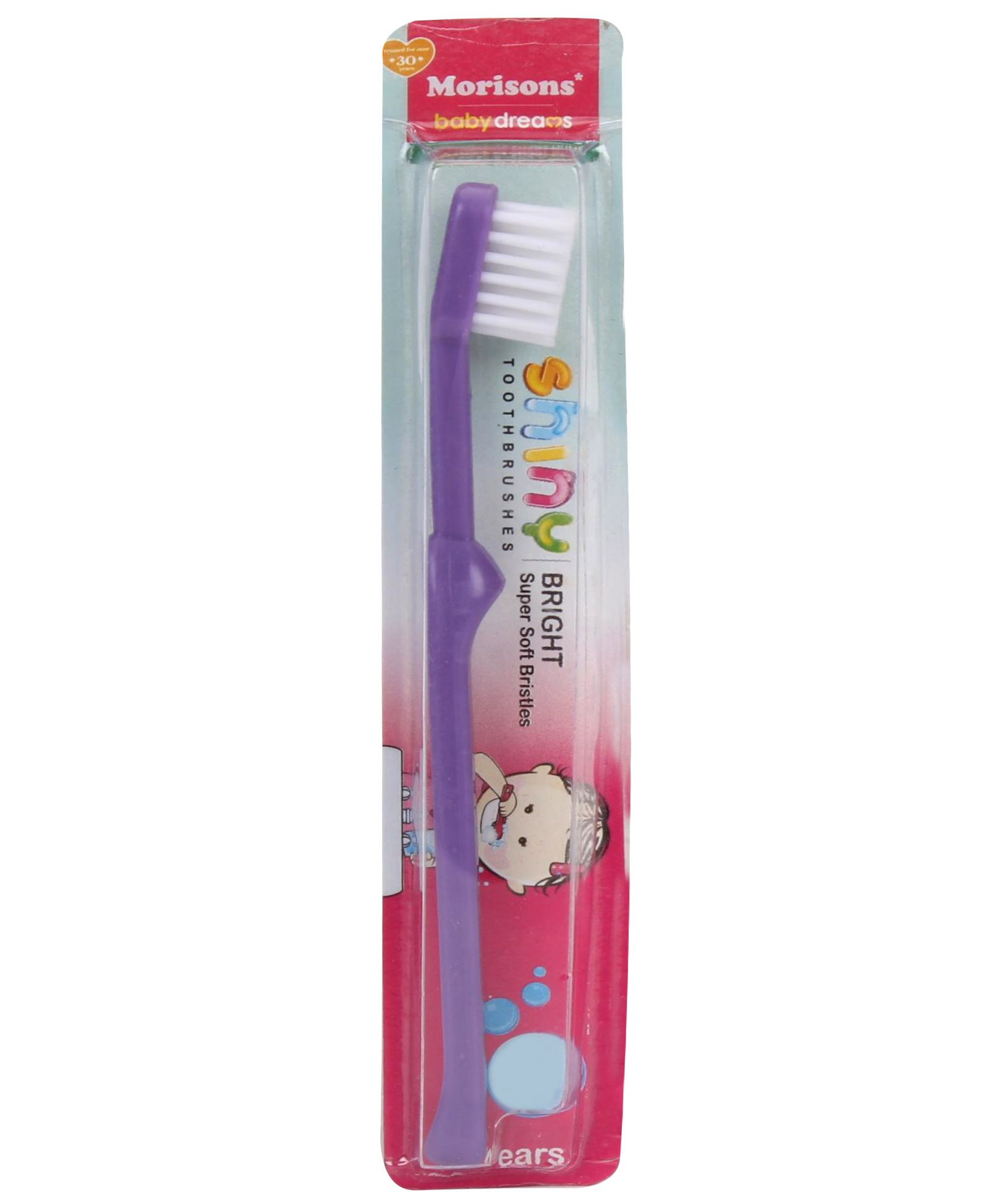 Morisons Baby Dreams Shiny Bright Tooth Brush - Purple