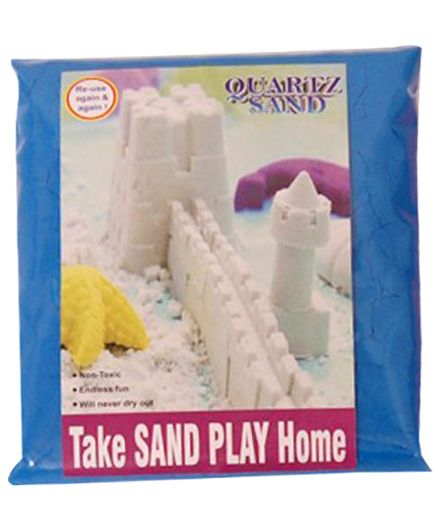 Elefantastik Blue Quartz Sand Plus Sand Tool And Tray - 500 Grams