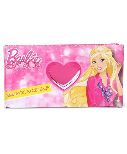 Barbie Tissue Box Pink - Pack Of 100