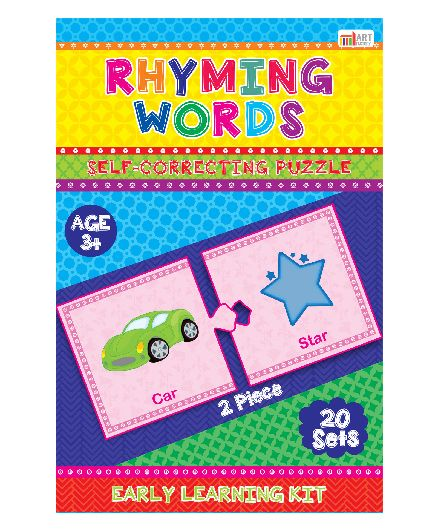 Art Factory Rhyming Words Puzzle
