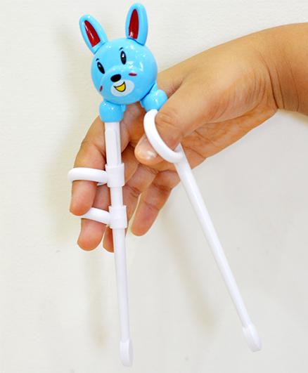 Tipy Tipy Tap Teddy Learning Chopsticks - Blue