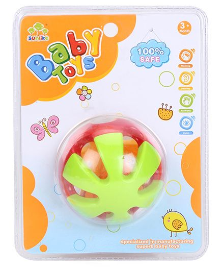 Smiles Creation Rattle Toy - Multicolor