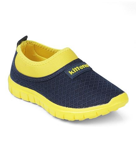 Kittens Shoes Canvas Casual Shoes - Yellow Black